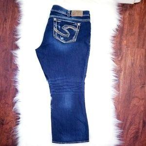 Silver jeans co Plus size